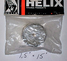 "Heat Shield Tape w/adhesive (1.5""x3') 0500-021"