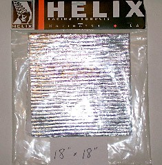 "Heat Shield Tape w/adhesive (1.5""x15') 0500-023"